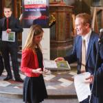 Vpravo zástupce hlavního partnera soutěže společnosti Charnwood, David Bouck. Foto Jan Hromádko